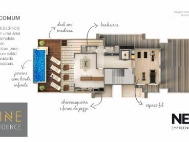 Foto 14 - Apartamento à Venda em Ponta Grossa, Oficinas, 2 quartos, Ref.: 96854-4 - ProcureImóvel