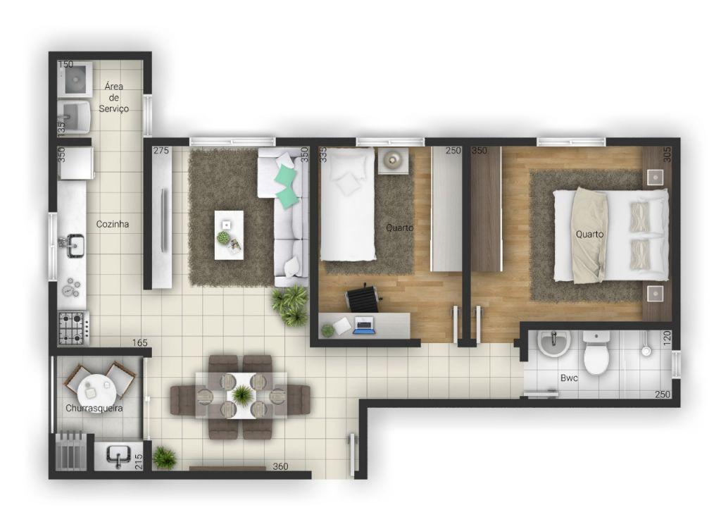 Venda - Apartamento - Apartamento - PR - Ponta Grossa - Ronda - Rua Barão do Amazonas - Madol Imóveis - 108503-4