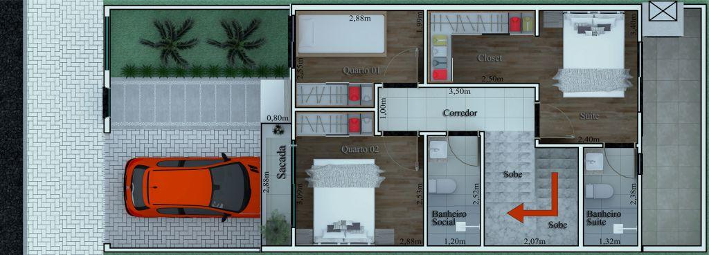 Venda - Casa - Sobrado - PR - Ponta Grossa - Uvaranas - Avenida Ana Rita - Madol Imóveis - 110946-4