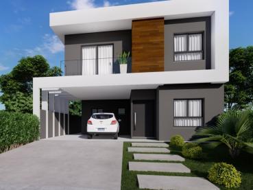 Casa de 182m² à Venda, 3 quartos - Ponta Grossa - Ref. 169899-4