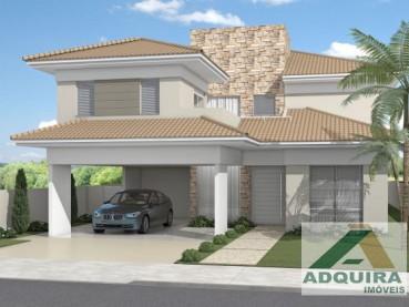 Casa em Condomínio Orfãs Ponta Grossa 32016-4