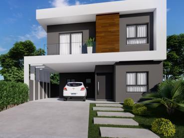 Casa de 182m² à Venda, 3 quartos - Ponta Grossa - Ref. 168720-4